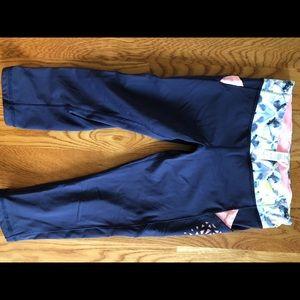 Girls Ivivia cropped leggings